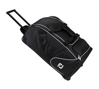 FootJoy Wheeled Nylon Holdall (Black)