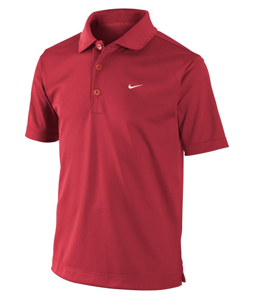 Nike Mens Dri Fit Tech Solid Polo Shirt