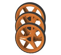 Clicgear 3.5 Trolley 3-Wheel Kit (Orange)