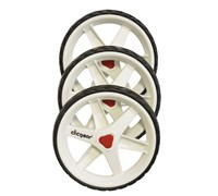Clicgear 3.5 Trolley 3-Wheel Kit (White)