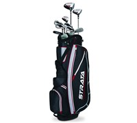 Callaway Mens Strata 12 Piece Package Set 2015 (Black/Red)