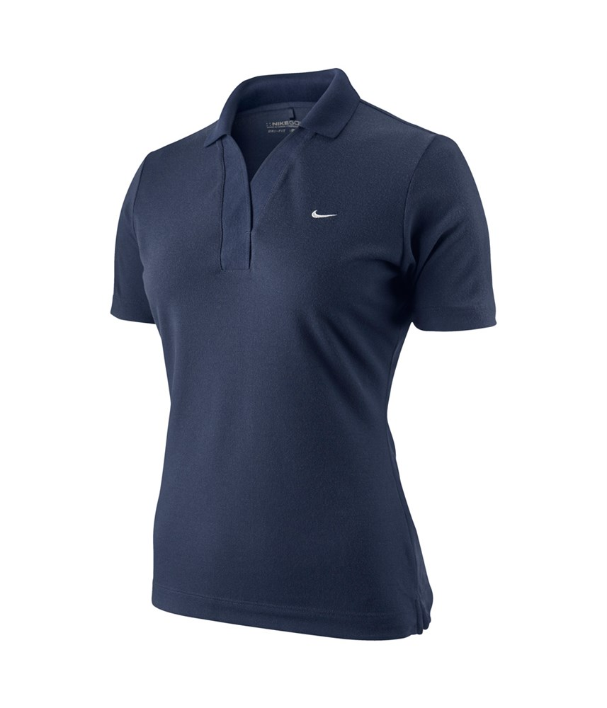 Nike ladies rib placket golf polo shirt 2011 golfonline for Nike womens golf shirts polo
