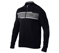 Oakley Mens Reynolds 1/4 Zip Sweater 2014 (Black)