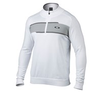 Oakley Mens Reynolds 1/4 Zip Sweater 2014 (White)