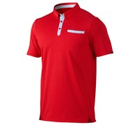 Oakley Mens Andrews Polo Shirt 2014 (Red)
