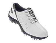 FootJoy Junior Golf Shoes (White/Silver) 2013