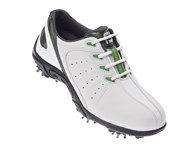 FootJoy Junior Golf Shoes (White/Green) 2013