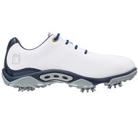 FootJoy Junior DNA Golf Shoes (White/Navy)