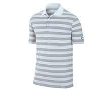 Nike Mens Tech Core Stripe Golf Polo Shirt 2013 (White/Black)