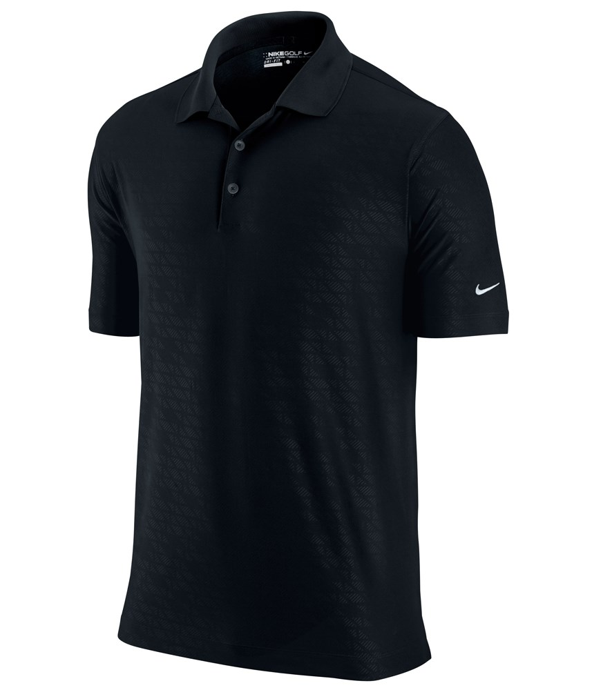 Nike Mens Dri-Fit Fractured Emboss Polo Shirt - Golfonline