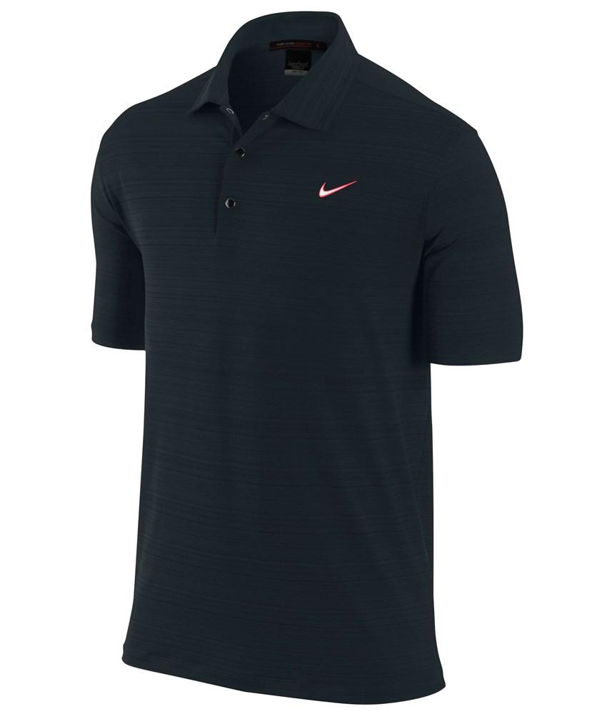 Nike Mens Tw Dri Fit Heather Polo Golfonline