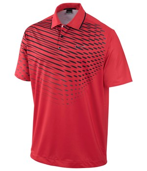 Nike Mens TW Dri-Fit Fade Graphic Polo 2012