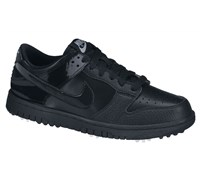 Nike Junior Dunk NG Golf Shoes 2013 (Black/Black/Black)