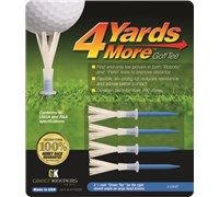 4 Yards More Golf Tees (Blue)