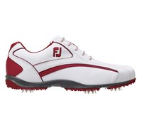 FootJoy Mens Hydrolite Golf Shoes 2014 (White/Red)