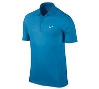Nike Mens Victory Polo Shirt (Vivid Blue/White)