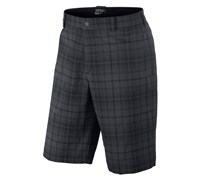 Nike Mens Tartan Golf Shorts 2013 (Black/Stadium Grey)