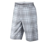 Nike Mens Tartan Golf Shorts 2013 (White/Night Stadium)