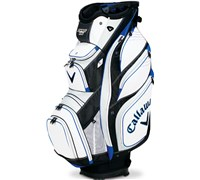 Callaway Golf Org 15 Cart Bag 2014 (White/Black/Blue)
