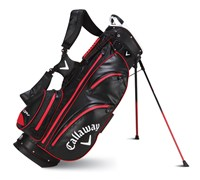 Callaway Aqua Dry Waterproof Stand Bag 2014 (Black/Red)