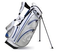 Callaway Aqua Dry Waterproof Stand Bag 2014 (White/Silver/Blue)