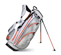 Callaway Aqua Dry Waterproof Stand Bag 2014 (White/Silver/Orange)
