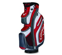 Callaway Chev Organiser Cart Bag 2015 (Red/Charcoal/White)