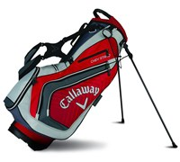 Callaway Chev Stand Bag 2015 (Red/Silver/Charcoal)