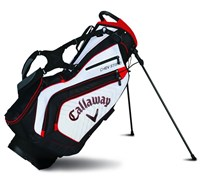 Callaway Chev Stand Bag 2015 (White/Black/Red)