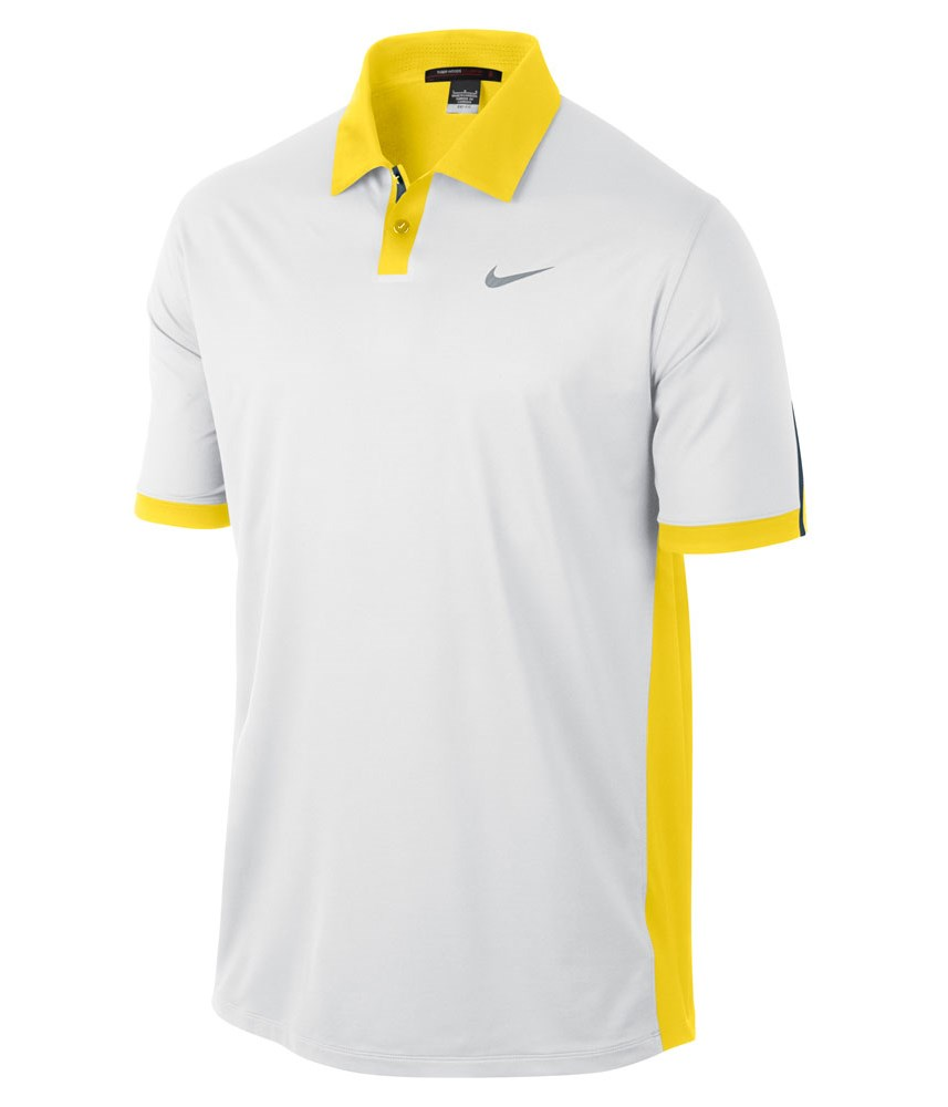 Nike mens tw modern color block polo shirt 2013 golfonline for Polo color block shirt