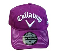 Callaway Tour LoPro Adjustable Golf Cap (Grape Juice)