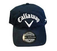 Callaway Tour LoPro Adjustable Golf Cap (Navy)
