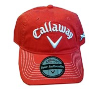 Callaway Tour LoPro Adjustable Golf Cap (Red)