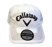 Callaway Tour LoPro Adjustable Golf Cap (White)