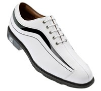 FootJoy Mens FJ Icon Golf Shoes (White/Black)