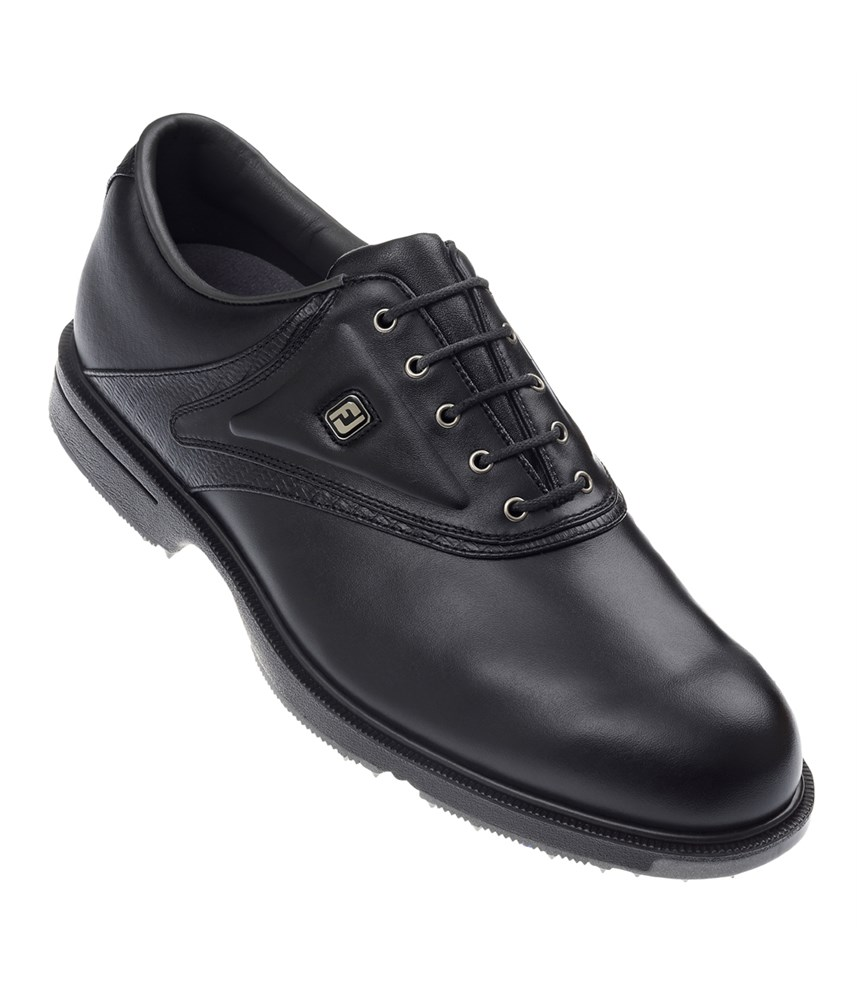 Footjoy Mens Aql Golf Shoes Black