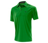 Mizuno Mens Flat Knit Laser Golf Polo Shirt 2014 (Green)