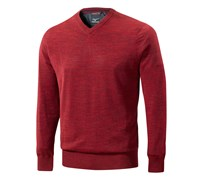 Mizuno Mens Hayate V Neck Sweater (Red)