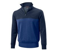 Mizuno Mens Hayate Zip Sweater (Dress Blue)