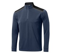 Mizuno Mens Shiki Quarter Zip Jacket (Dress Blue)