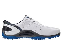 FootJoy Mens Sport Spikeless Golf Shoes 2014 (White/Blue/White)