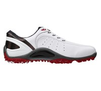 FootJoy Mens Sport Spikeless Golf Shoes 2014 (White/Red)