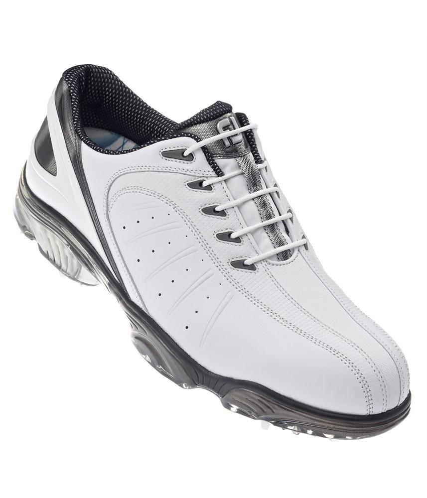 footjoy mens fj sport golf shoes white silver white 2013