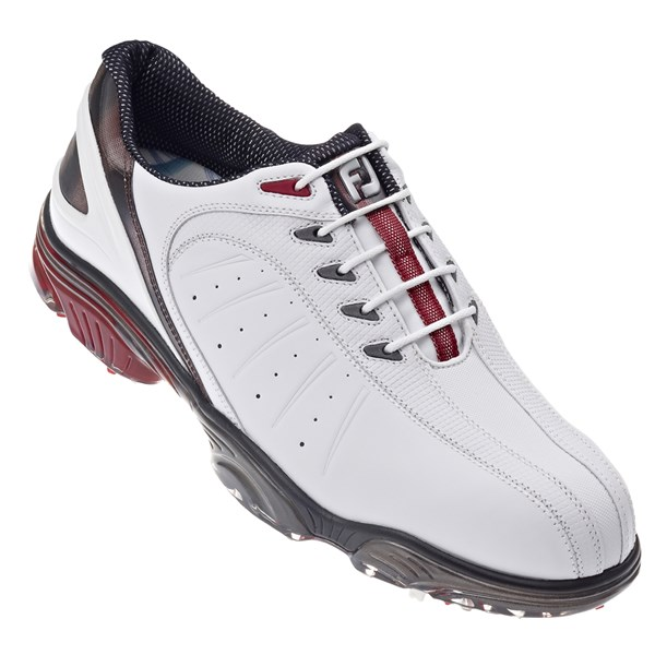 Footjoy Fj Sport Golf Shoes White Red