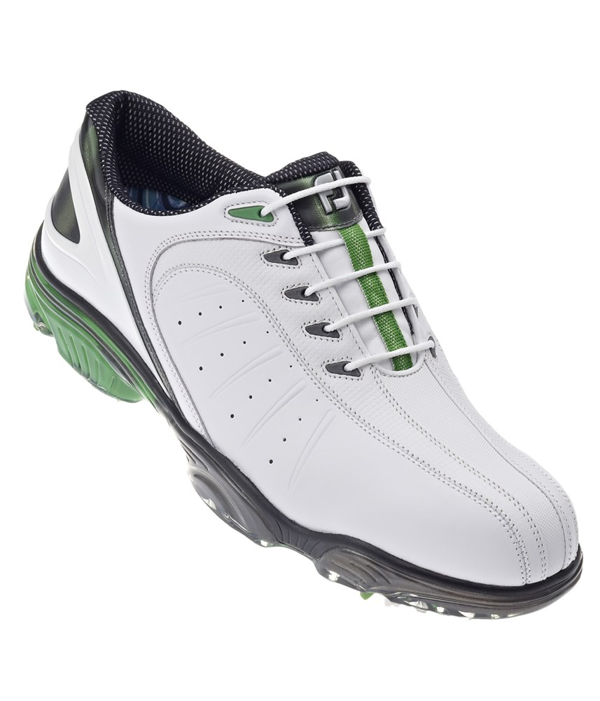footjoy mens fj sport golf shoes white green white 2013