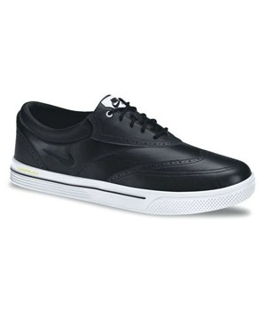 Nike Lunar Swingtip Golf Shoes (Black/White) 2012