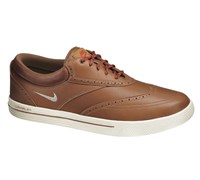 Nike Mens Lunar Swingtip Golf Shoes 2014 (Brown/Sail-Cider-Red)