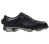 Footjoy Mens DryJoys Tour Boa Golf Shoes (Black/Black Lizard)