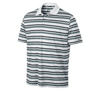 Nike Mens Ultra Stripe 2.0 Polo Shirt 2013 (White/Black)