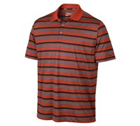 Nike Mens Ultra Stripe 2.0 Polo Shirt 2013 (Orange/Black)